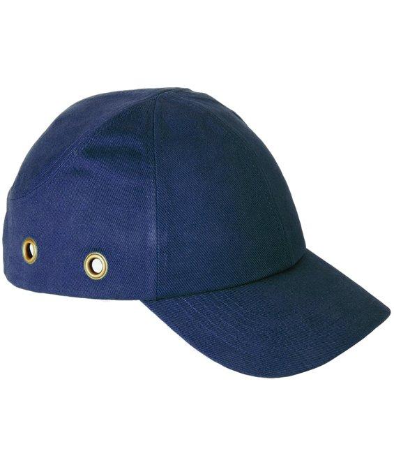 Cappellino paracolpi rivestito in cotone con protezione plastica ca9ff28a2fbb