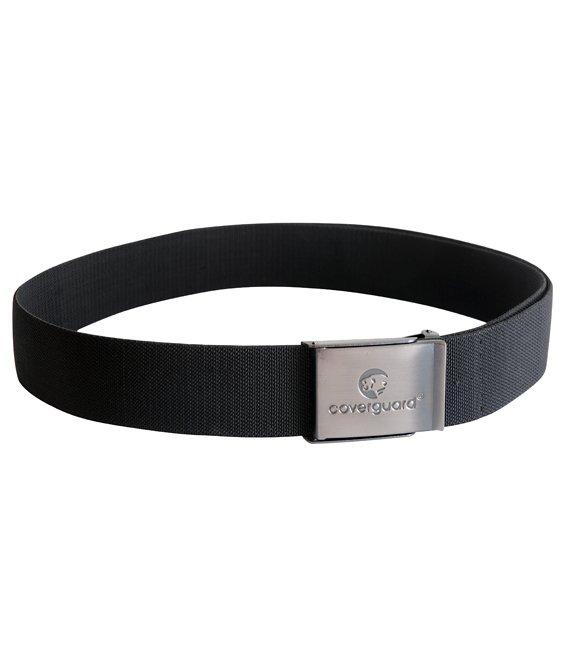 miglior servizio ce2be 84ca7 Cintura elasticizzata regolabile colore nero fibia acciaio