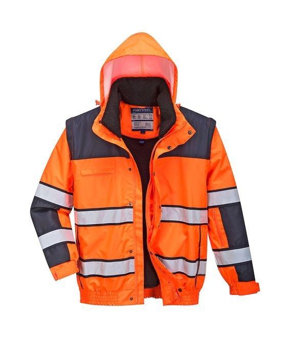 Abbigliamento E Accessori Impermeabile Alta Visibilità Emergenza Sanitaria Uomo: Abbigliamento