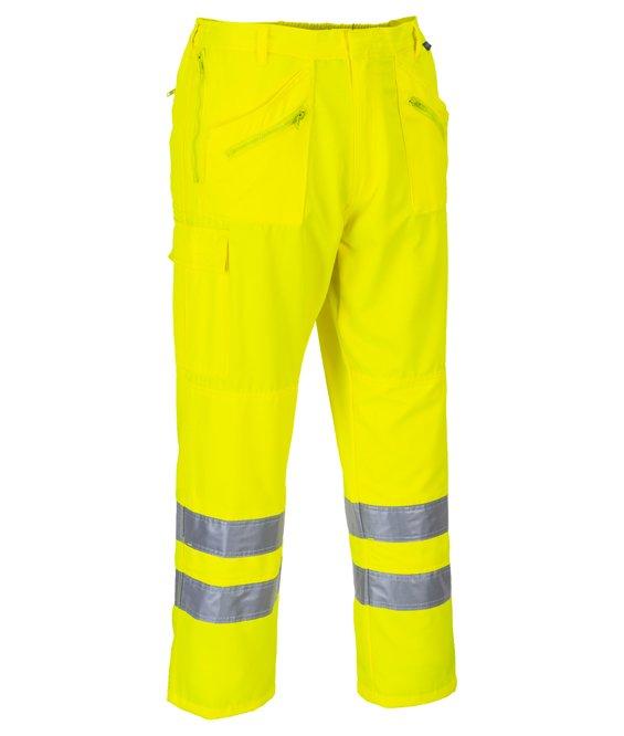 S Arancione Portwest LW71 Pantalone Donna Alta Visibilit/à