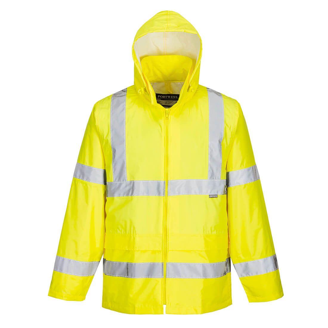 Altro Abbigliamento Uomo Impermeabile Alta Visibilità Emergenza Sanitaria