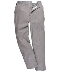Pantaloni cuoco elasticizzati idrorepellenti varie tasche 072cd479fa90