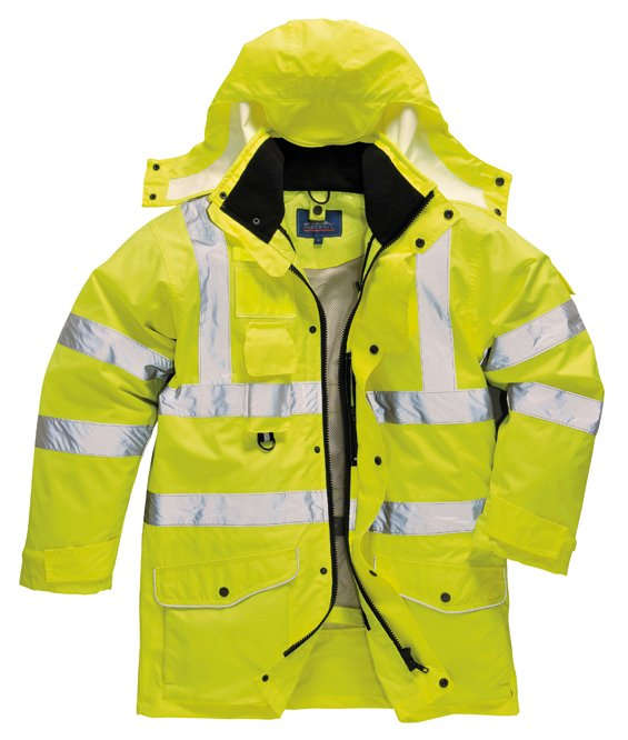 Uomo: Abbigliamento Impermeabile Alta Visibilità Emergenza Sanitaria Altro Abbigliamento Uomo