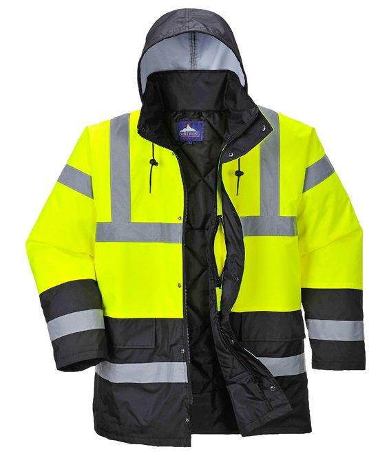 Abbigliamento E Accessori Uomo: Abbigliamento Impermeabile Alta Visibilità Emergenza Sanitaria