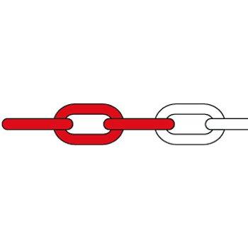 Coppia paletti per catena bicolore sicurezza privacy recinzione delimitazione