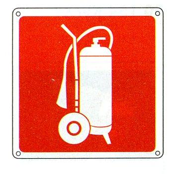 Cartello con simbolo 39 estintore carrellato for Cartelli antincendio dwg