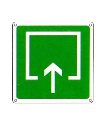 Cartello Con Simbolo Luogo Sicuro