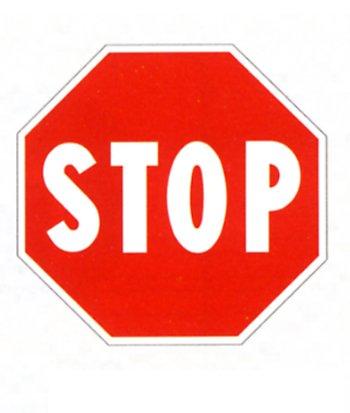 """Cartelli di Sicurezza /""""Stop di Emergenza/"""""""