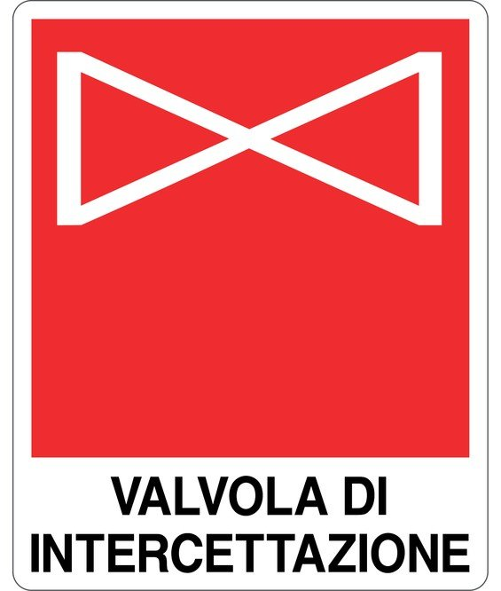 Cartello 39 valvola di intercettazione for Cartelli antincendio dwg
