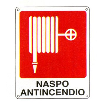 Cartello 39 naspo antincendio for Simboli antincendio dwg
