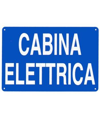 Cartello 'cabina elettrica