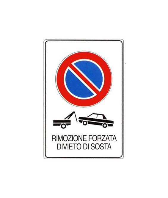 Cartello divieto di sosta divieto di fermata e parcheggio for Diritto di passaggio su strada privata