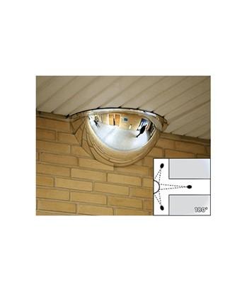 Specchio mezza cupola per sorveglianza campo visivo a 180 cm - Specchi stradali vendita ...