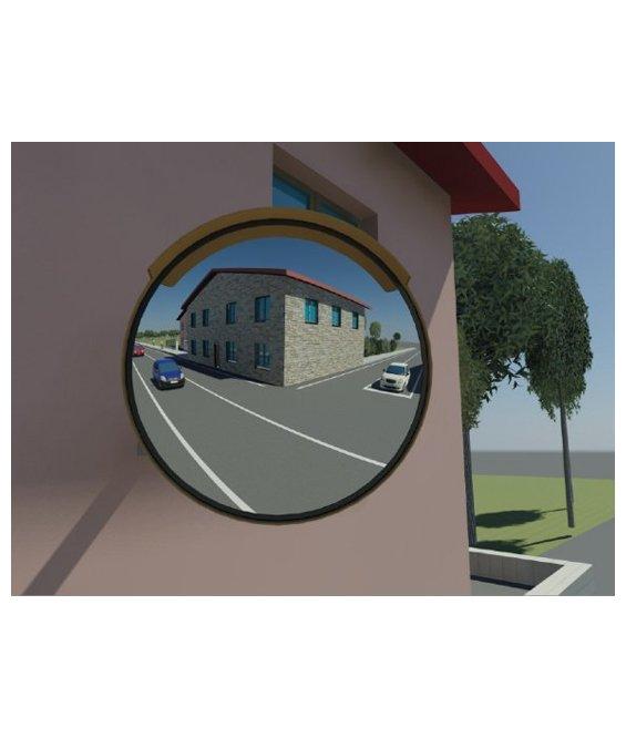 Specchio parabolico stradale infrangibile - Specchi stradali vendita ...