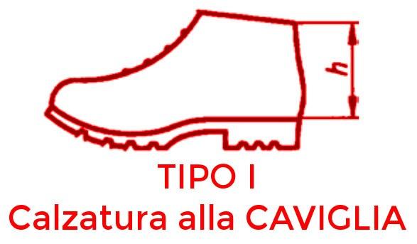 scarpa da lavoro alla caviglia