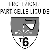 Protezione tipo 6 dalle particelle liquide
